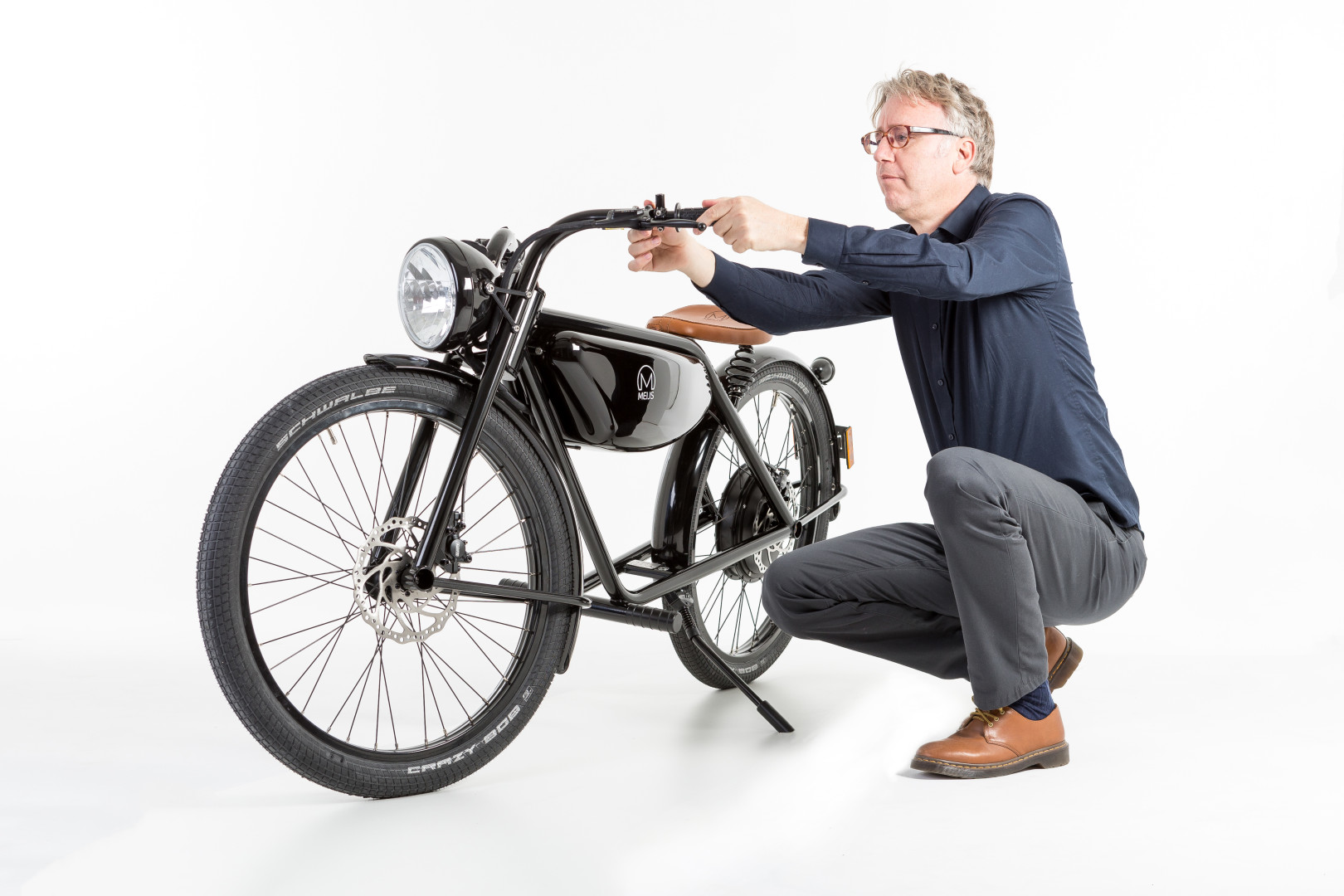 Meijs Motorman The 100 Electric Moped From Maastricht
