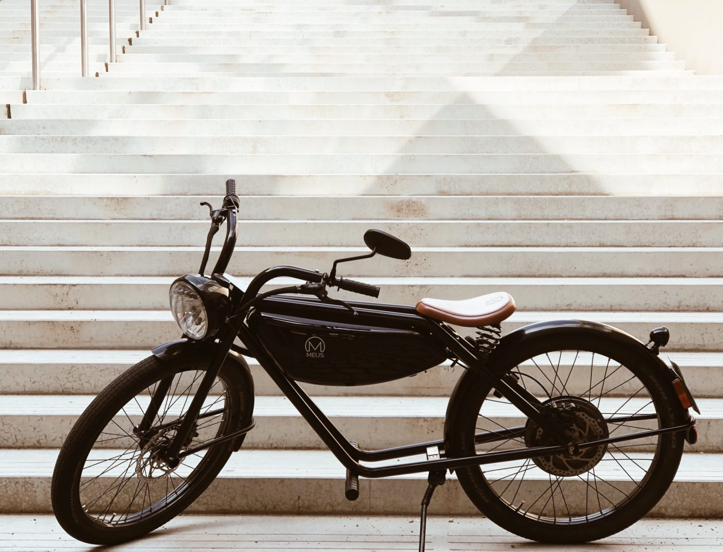 MEIJS Motorman - the 100% electric moped from Maastricht