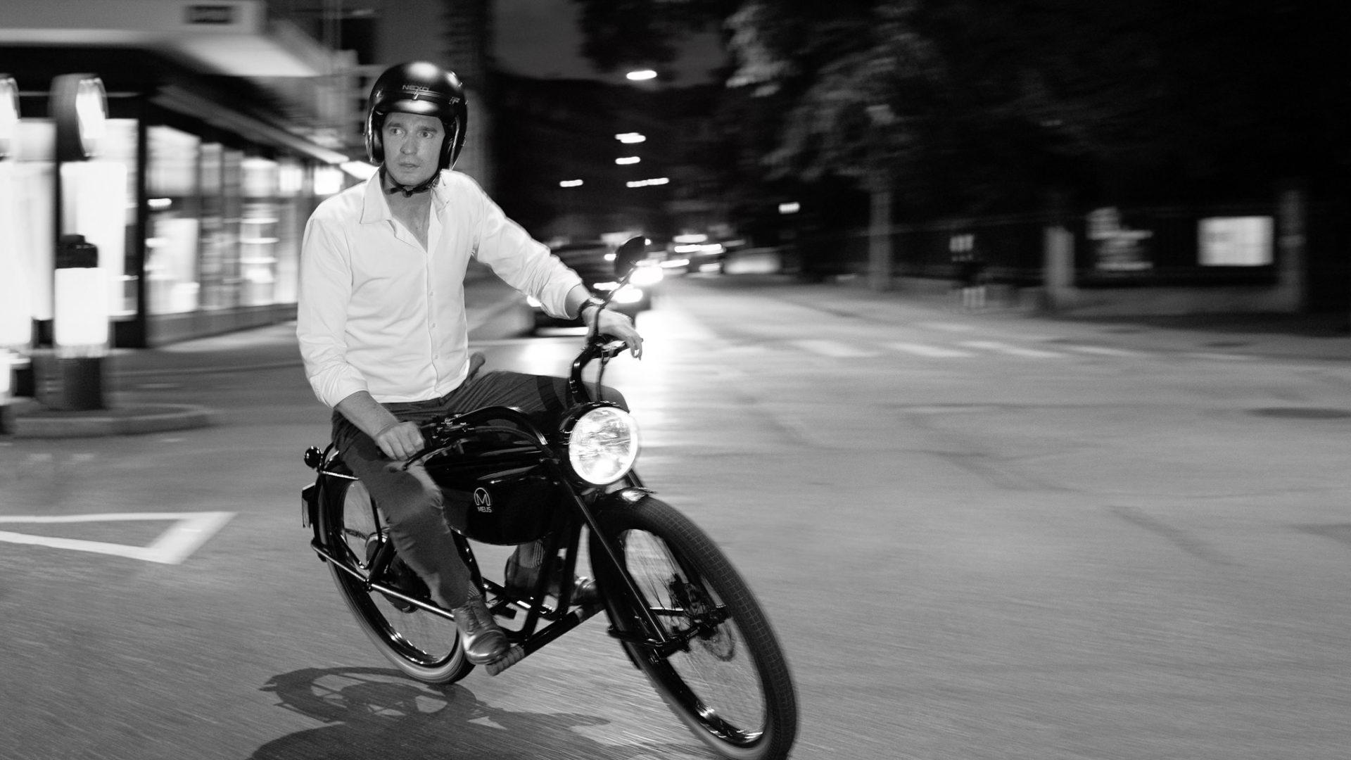 Meijs Motorman The 100 Electric Moped From Maastricht